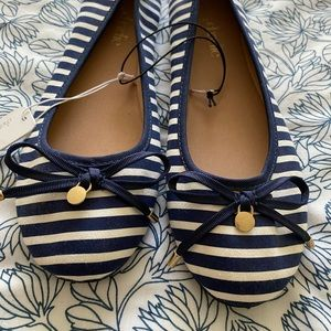 NWT Pair of Striped Flats from Charming Charlie, 9
